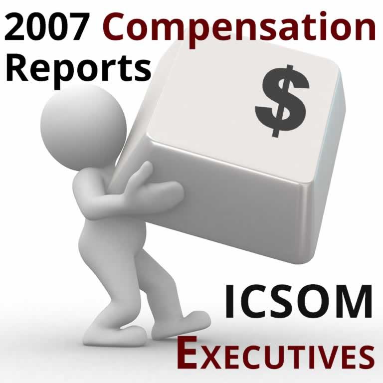 2007 Compensation Report: ICSOM Executive Directors