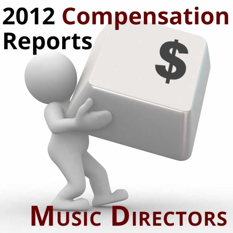 2012 Compensation Reports: Music Directors