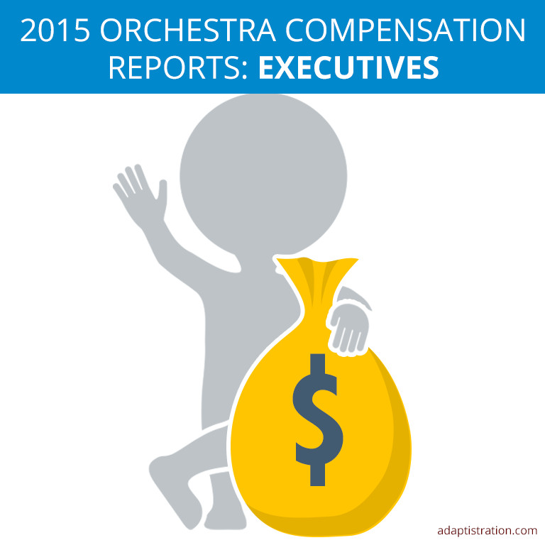2015 Orchestra Compensation Reports: Executives