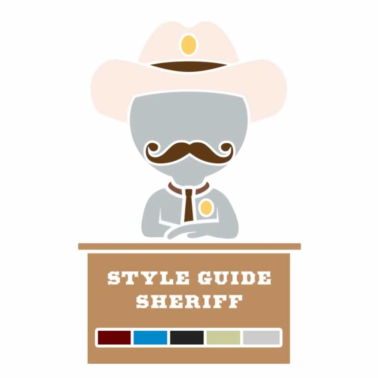 Style Guide Sheriff