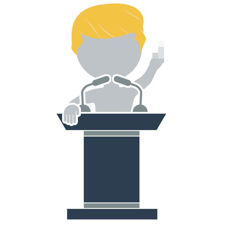 Adaptistration Guy Trump Bird