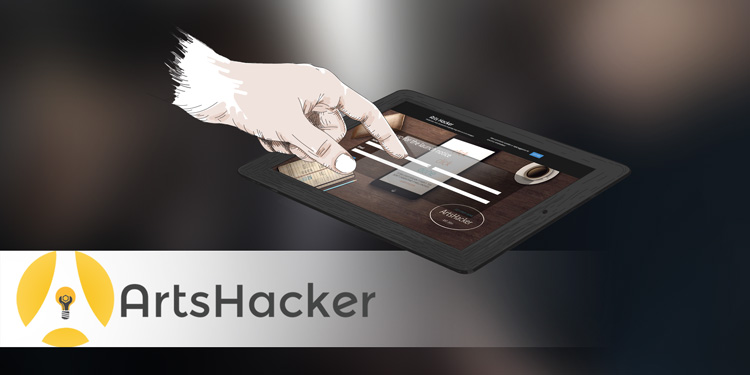 signup for the ArtsHacker launch notice