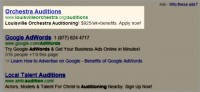 LO Google Adwords Advertisement
