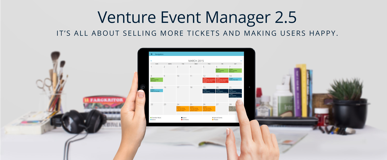 Venture Event Manager 2.5